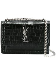 Saint Laurent 'Sunset Monogram' Chain Wallet Black