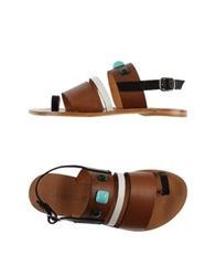 Tatoosh Thong Sandals Black
