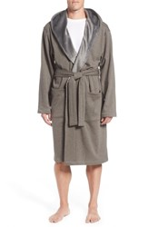 Ugg 'Brunswick' Robe Rock Ridge Heather