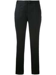 Boutique Moschino Cigarette Trousers Black