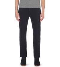 7 For All Mankind Slimmy Luxe Performance Slim Fit Tapered Jeans Navy