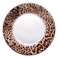Roberto Cavalli Jaguar Dinner Plates Set Of 6