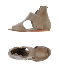 Neil Barrett Sandals Khaki