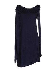 Axara Paris Short Dresses Dark Blue