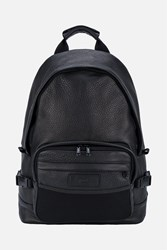 Ami Alexandre Mattiussi Leather Backpack Black