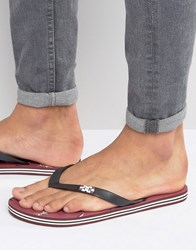 Dc Graphic Flip Flops Red Red