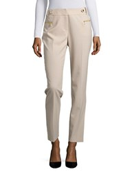 Calvin Klein Straight Leg Dress Pants Latte