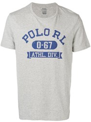 Polo Ralph Lauren Logo T Shirt Grey