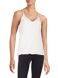 Bailey 44 Layered Silk Tank Cream