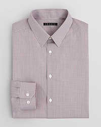 Theory Robson Dress Shirt Regular Fit Rouse Multi