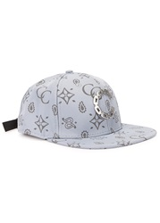 Crooks And Castles Chain Printed Blue Twill Cap