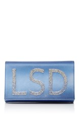 Preciously Paris Blue Mini Ombre Clutch