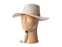 Stetson Big Brim Mesh Safari With No Fly Zone Insect Shield Fabric Khaki Caps