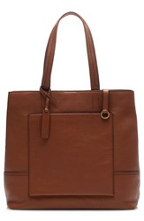 J.Crew All Day Tote Brown Roasted Chestnut