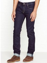 7 For All Mankind The Straight Fit Jean Dark Indigo Rinse