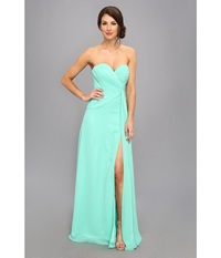 Faviana Strapless Sweetheart Dress 6428 Mint Women's Dress Green