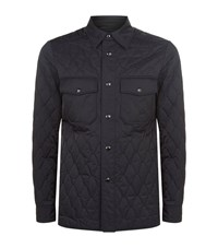 Tom Ford Quilted Jacket Male Navy