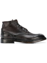 Silvano Sassetti Lace Up Shoes Brown