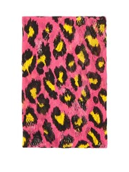 Gucci Leopard Print Stretch Lace Tights Pink