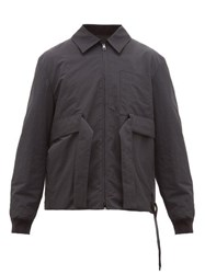 Craig Green Utility Zip Through Bomber Jacket Black
