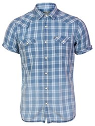 Garcia Men Check Shirt Multi Pastel