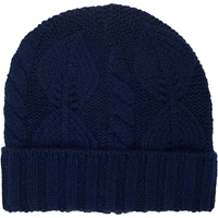 Barneys New York Mixed Stitch Knit Hat