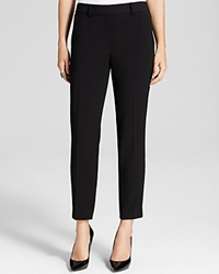 T Tahari Marlena Straight Leg Pants Black