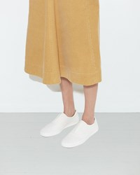 Christophe Lemaire Slip On Sneakers Off White