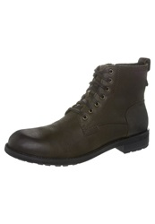 Vagabond Lynnwood Laceup Boots Java Dark Brown