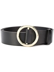 Frame Circle Buckle Belt 60