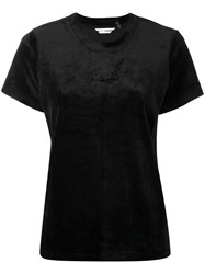 Dkny Embroidered Logo T Shirt Black