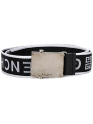 Givenchy Logo Strap Belt Black