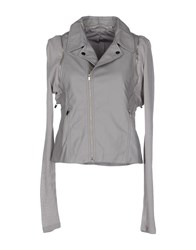 Silvian Heach Coats And Jackets Jackets Women Grey