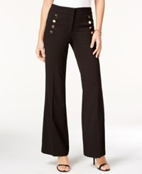 Xoxo Juniors' Sailor Wide Leg Pants Black