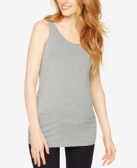 A Pea In The Pod Maternity Tank Top Heather Grey