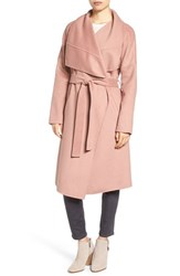 Badgley Mischka Women's 'Lex' Double Face Wool Blend Wrap Coat