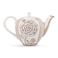 Pip Studio Spring To Life Teapot Cream Small