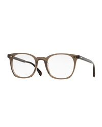 Oliver Peoples L.A. Coen Square Fashion Glasses Beige