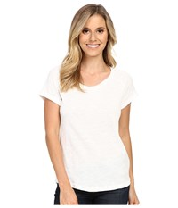 Ariat Inwood Top Snow White Women's Short Sleeve Pullover