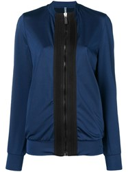 No Ka' Oi Colour Block Sports Jacket Blue