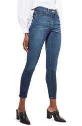 Topshop Women's Leigh Skinny Jeans Mid Denim