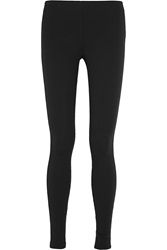 Theory Piall Stretch Jersey Leggings Black