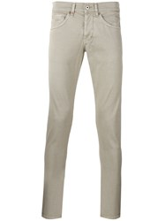 Dondup Skinny Trousers Nude Neutrals