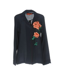 Clover Canyon Shirts Dark Blue