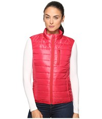United By Blue Bison Quilted Vest Red Women's Vest