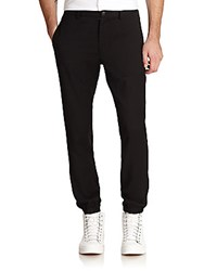 Opening Ceremony Weir Cotton Track Pants Black