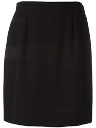 Moschino Vintage Mini Skirt Black