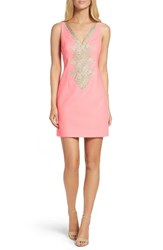 Lilly Pulitzerr Women's Pulitzer Junie Shift Dress Coral Reef