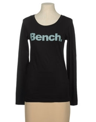 Bench Long Sleeve T Shirts Pastel Blue
