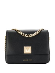 Michael Michael Kors Black And Gold Tote Bag